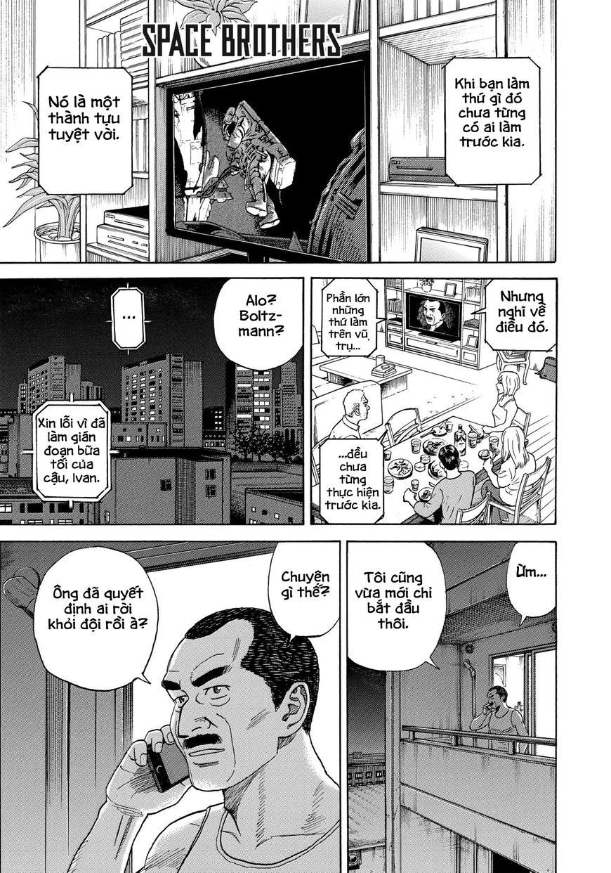 Uchuu kyoudai Chap 333 . Next Chap Chap 334