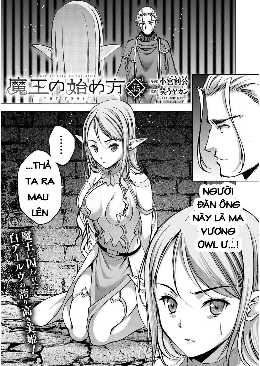 Maou no Hajimekata Chap 35 . Next Chap Chap 36