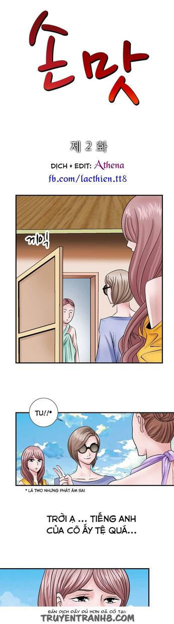 The Taste Of The Hand Chapter 2 - Trang 18