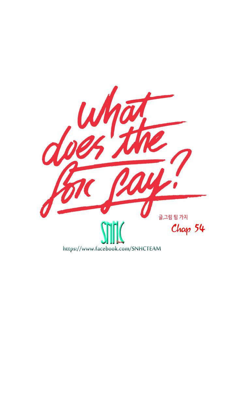 Con Cáo Nói Gì? Chapter 54 - Trang 1